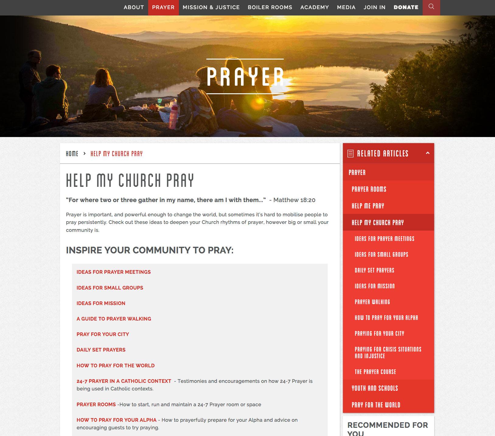 24-7_Pray website